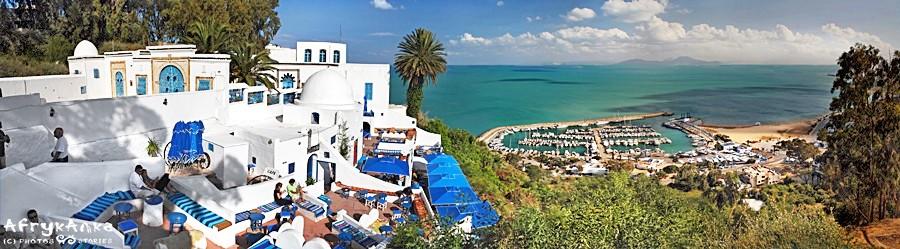 Panorama z Sidi Chabaane.