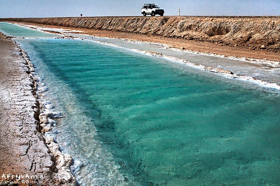Kolor wody jest niesamowity!