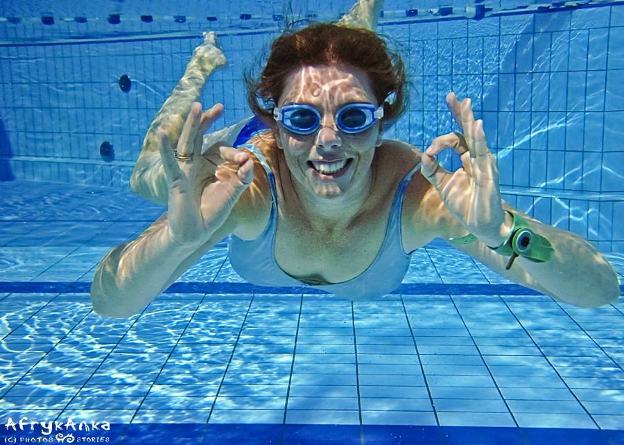 Pływanie wciąż daje mi dużo radości!