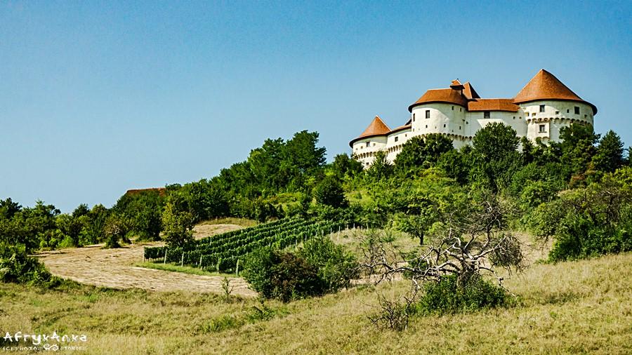 Panorama zamku Veliki Tabor.
