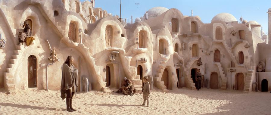 Ksar w filmie Star Wars.