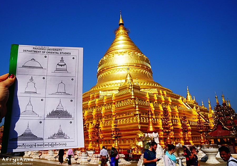 Shwezigon i ewolucji birmańskich stup.