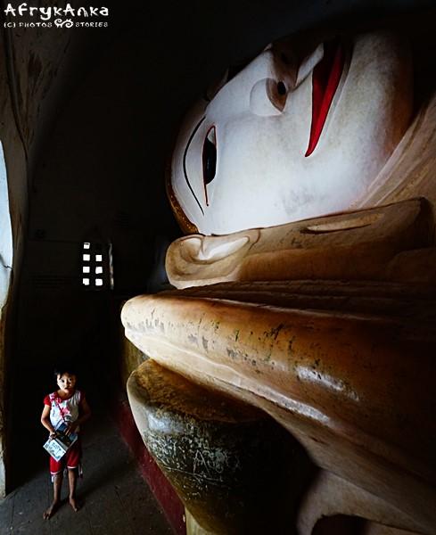 Umierający Budda w Manhua Paya.