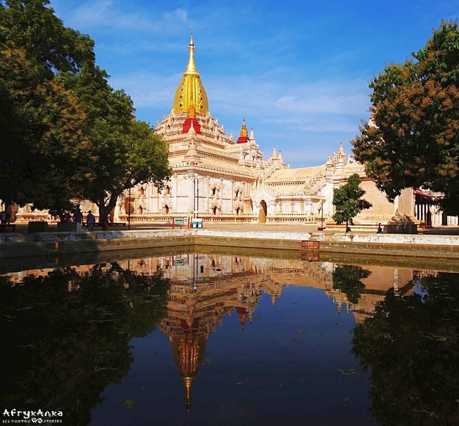 Ananda to jedna z najsłynniejszych świątyń Baganu.