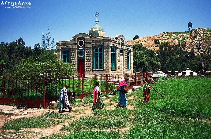 Kościół, gdzie przechowywana jest Arka.