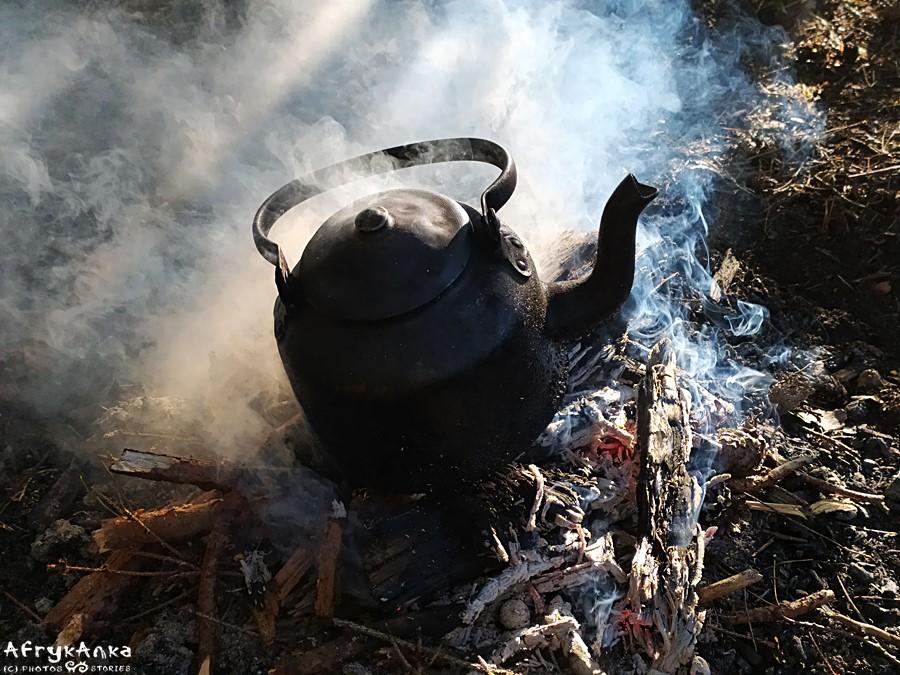 Poranna herbata.