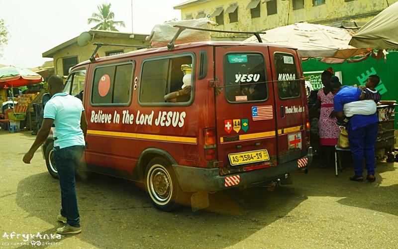 Wierzę w Jezusa - z takim kierowcą poczujesz się pewniej.