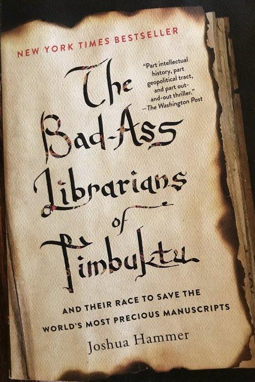 Angielskie wydanie książki o niesamowitych bibliotekarzach.