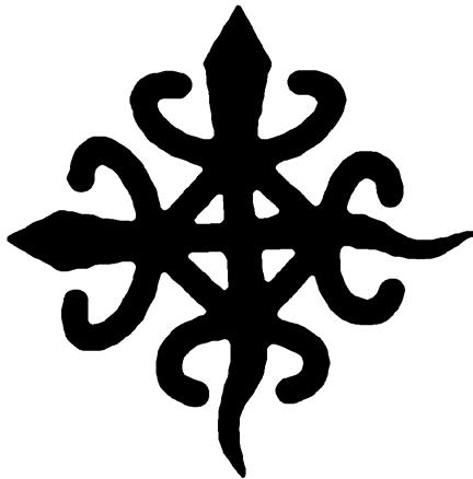 Krokodyl syjamski - symbol jedności i demokracji.