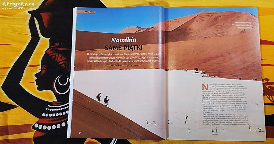 Magazyn Podróże - artykuł o różnych piątkach zwierząt.
