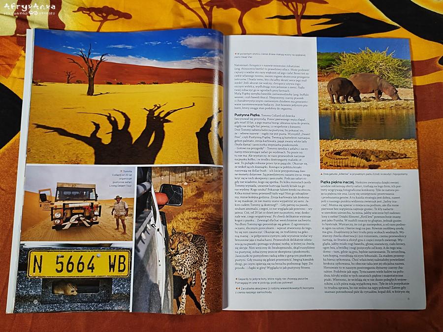 Świat afrykańskiej przyrody jest niesamowicie ciekawy.