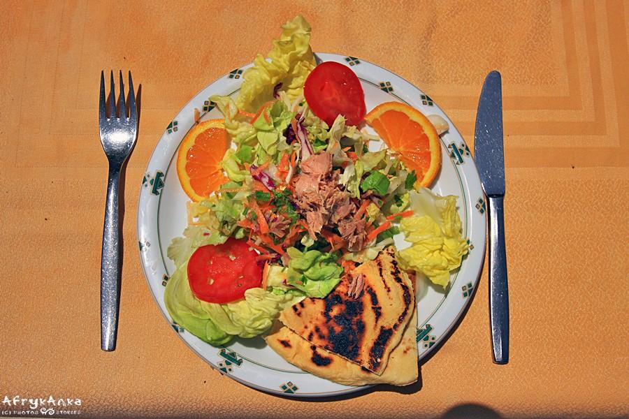 Sałatka tunezyjska - świetna kompozycja smaku.