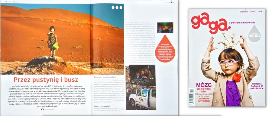 Podróż z dziećmi - w magazynie GaGa