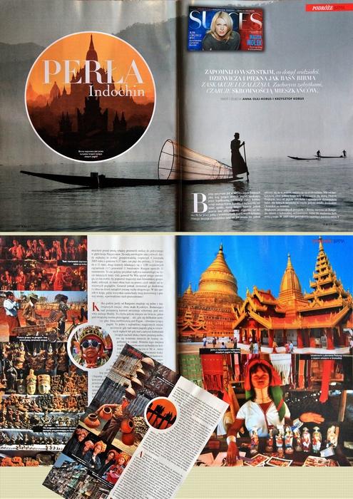 Materiał o Birmie.
