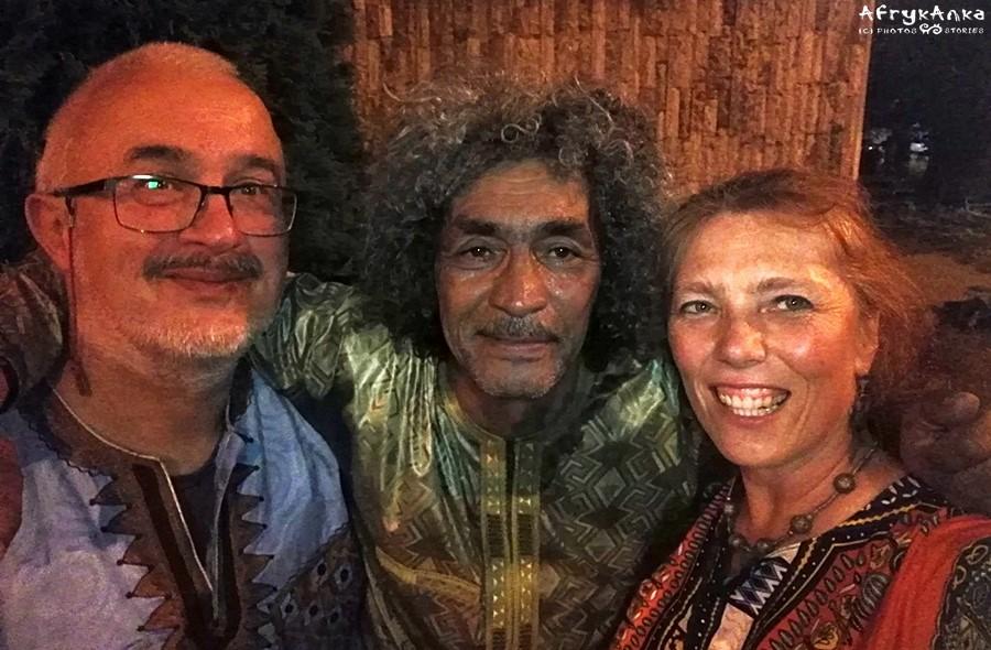 Krzysiek, Ibrahim i ja - koncert Tinariwen w Warszawie.