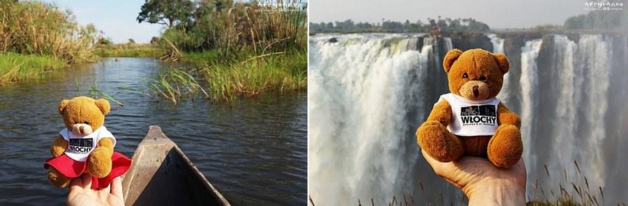 Botswana, rejs Okawango i Zimbabwe: Victoria Falls.