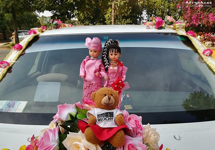 Stroje ślubne w Birmie są zupełnie inne niż w Polsce!