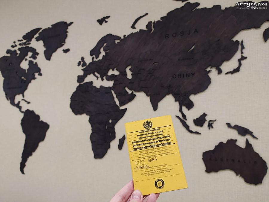 Żółta książeczka - medyczny paszport podróżnika.