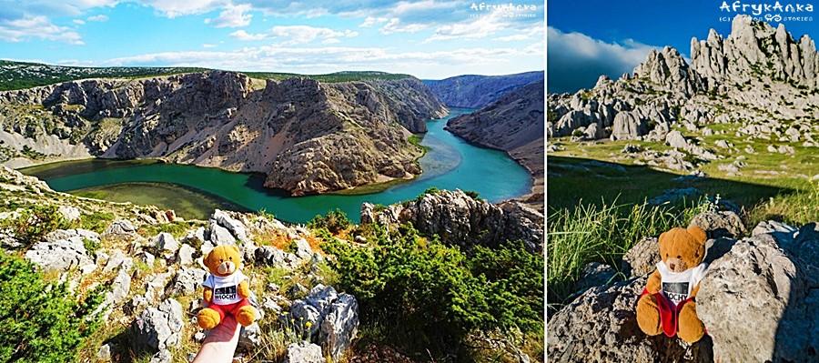 Kanion rzeki Zmrnja i Velebit - tu kręcono film Winnetou!