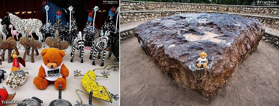 Rękodzieło z Namibii i największy meteoryt świata (też w Namibii!)
