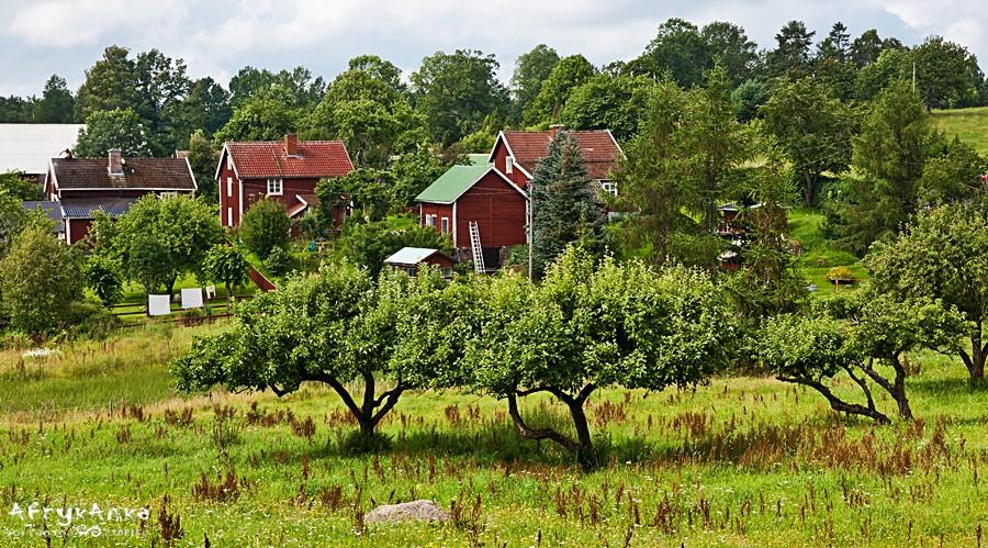 Panorama osady.