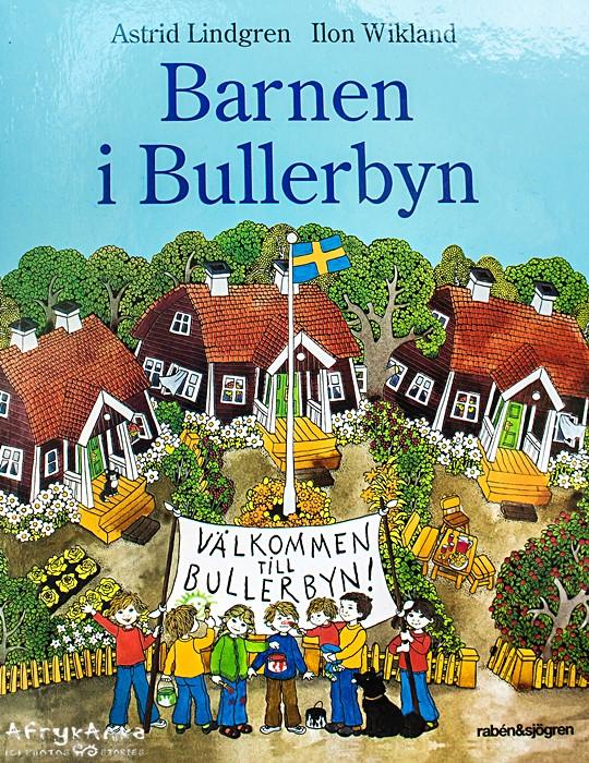 Okładka książki - wydanie szwedzkie.