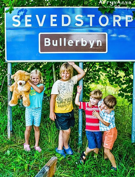 Nasze dzieci w Bullerbyn.
