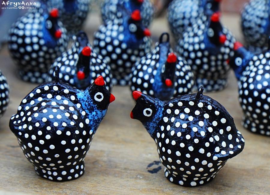 Ptaki z... kulek po dezodorantach! (Namibia)