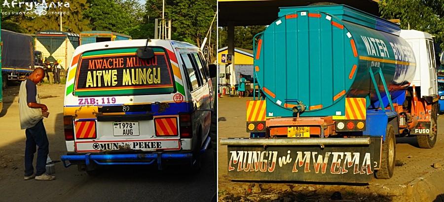 """To słówko wszędzie zobaczysz: """"Mungu"""" to w swahili """"Bóg""""."""