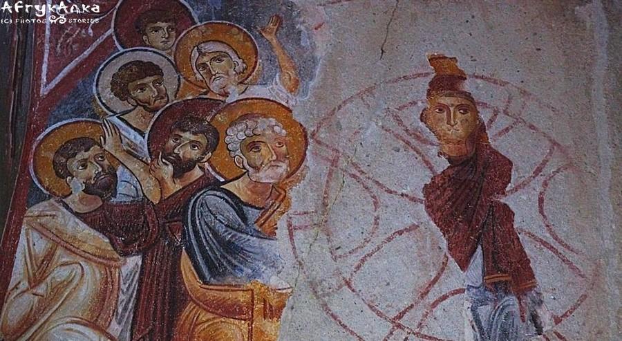 Nie wszystkie freski zachowały się do współczesności.