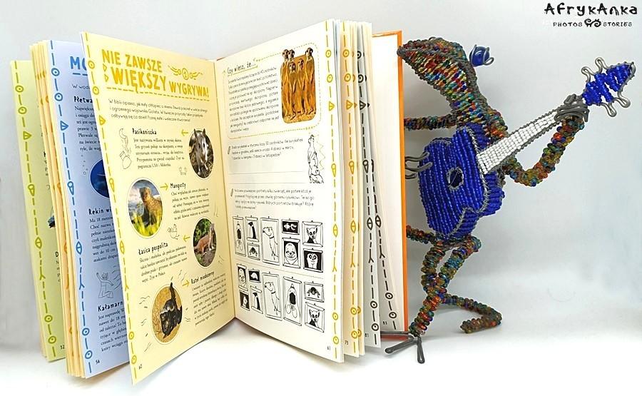"""""""Księga niezwykłych zwierząt"""" jest pełna ciekawostek i zaskakujących faktów!"""