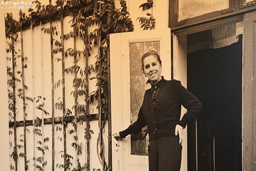 Pisarka w swoim duńskim domu.