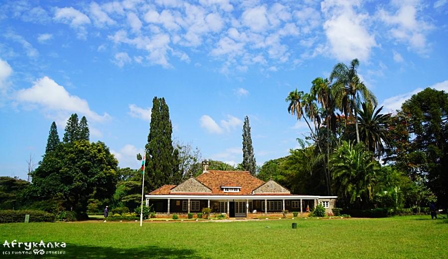 Dom Karen Blixen w Nairobi.
