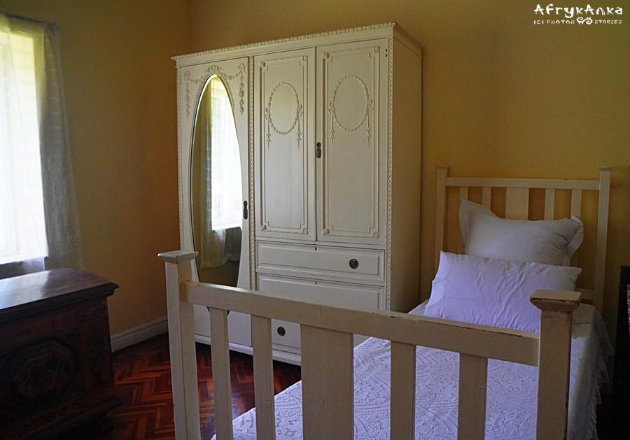 Sypialnia Brora a potem Denysa.