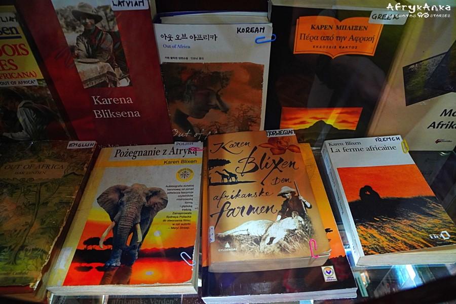Wystawa książek Karen.