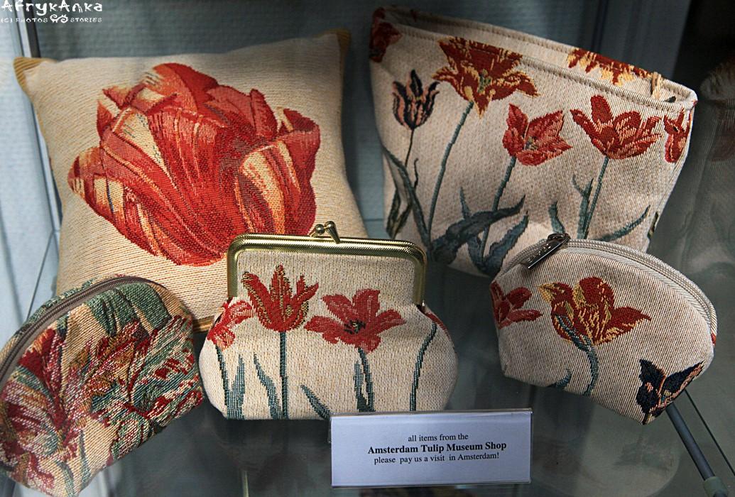 W Amsterdamie jest nawet Muzeum Tulipanów.