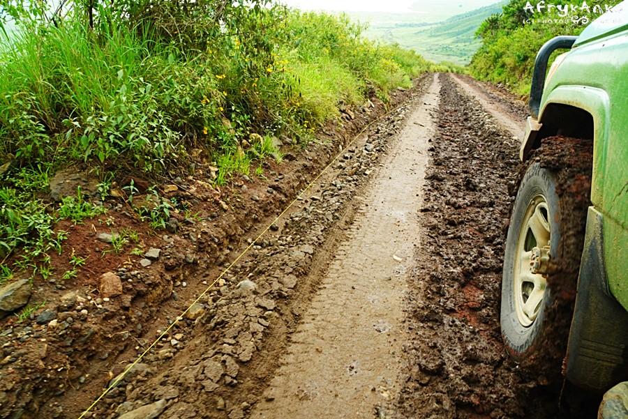 Droga była trudna - ale w końcu dotarliśmy na dół.