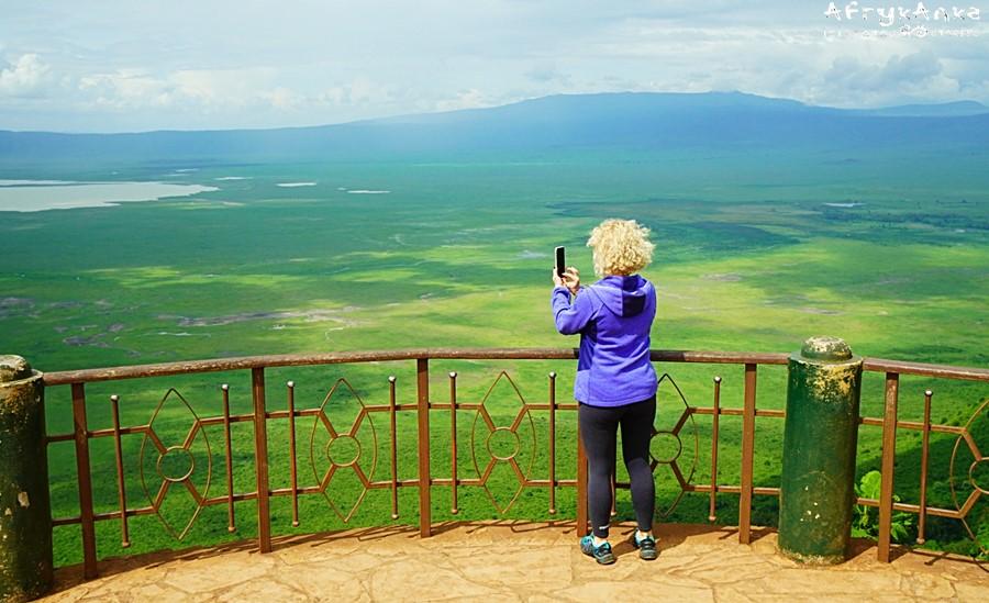 Panorama z punktu widokowego.