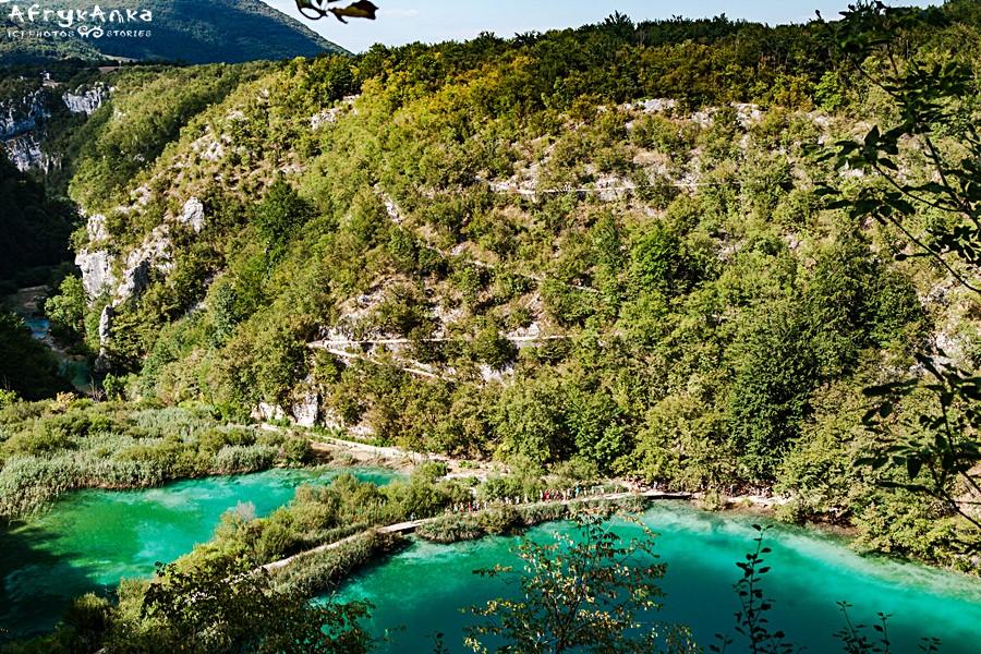 Cud natury potrafi zmęczyć: drogi wiodą to w górę, to w dół...