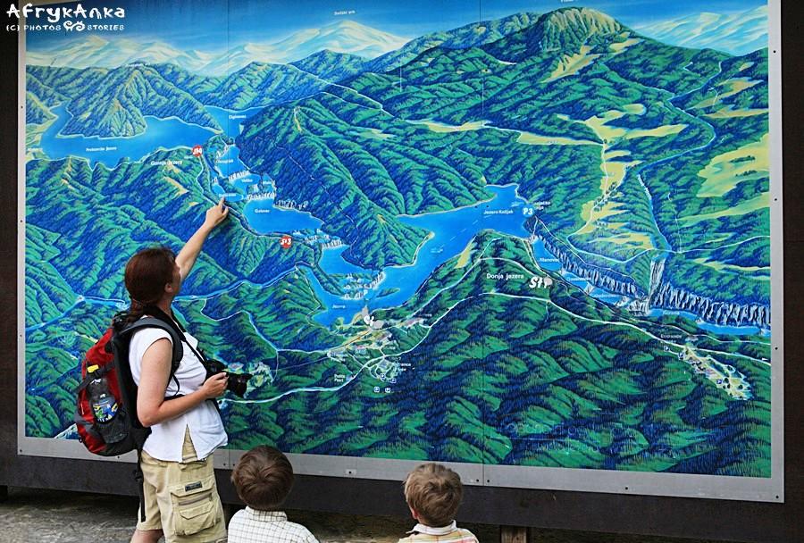 Przejrzyj mapę parku, by lepiej zaplanować zwiedzanie.