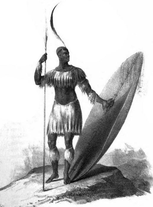 Zulus Chaka - bohater odcinka #49 (źródło: Wikipedia).