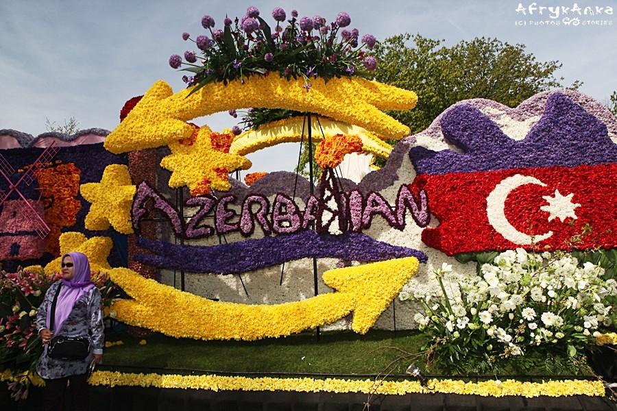 Kompozycja z Azerbejdżanu.