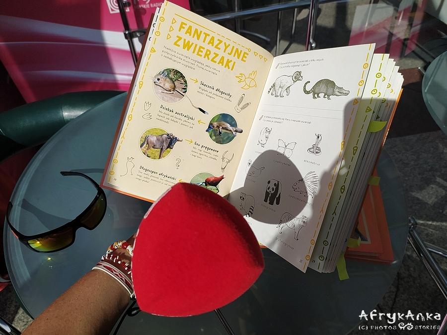 Księga niezwykłych zwierząt w studio radiowym!