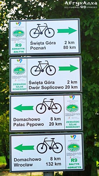 W okolicy czeka wiele szlaków rowerowych.
