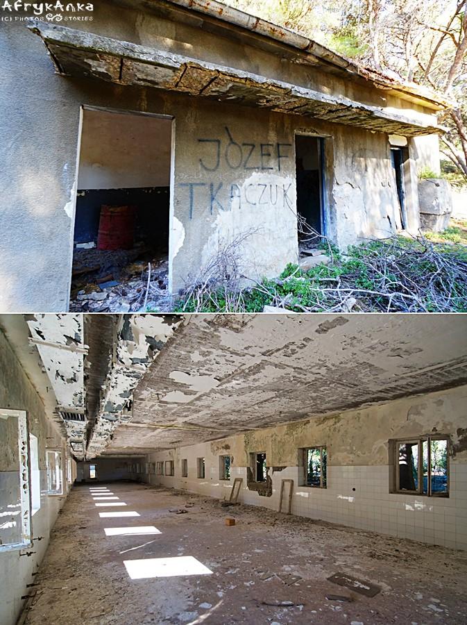 """Opuszczone koszary. Kto pamięta """"Tkaczuka""""? ;)"""
