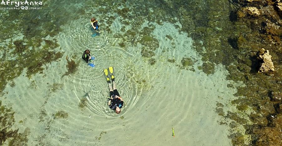 Eksploracja zatoki.