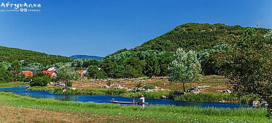 Krajobrazy Lika to łąki, wzgórza i masa zieleni wokół!