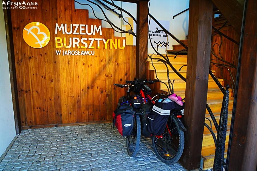 Jarosławiec - Muzeum Bursztynu. Przypinamy rowery i ruszamy na zwiedzanie!