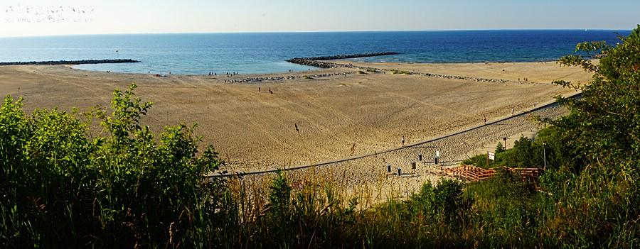 """Panorama plaży """"Dubaj"""""""