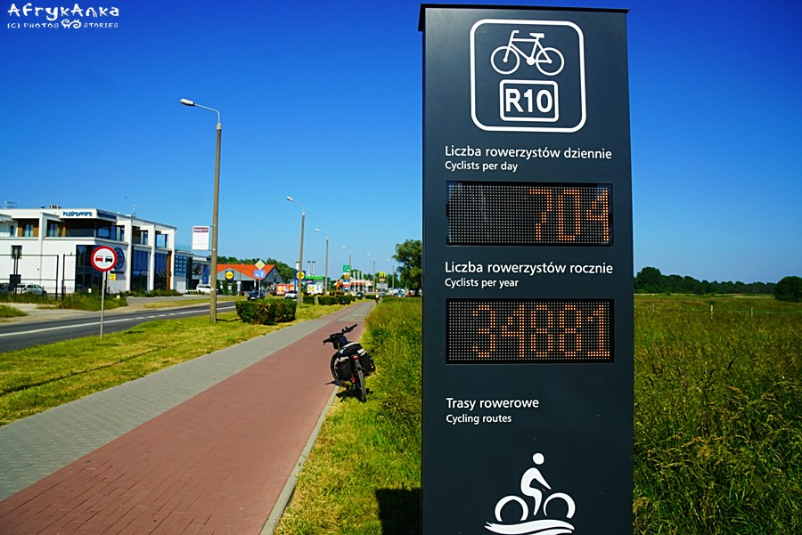 Licznik rowerzystów :)